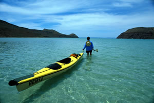 Sea Kayaking Baja La Paz